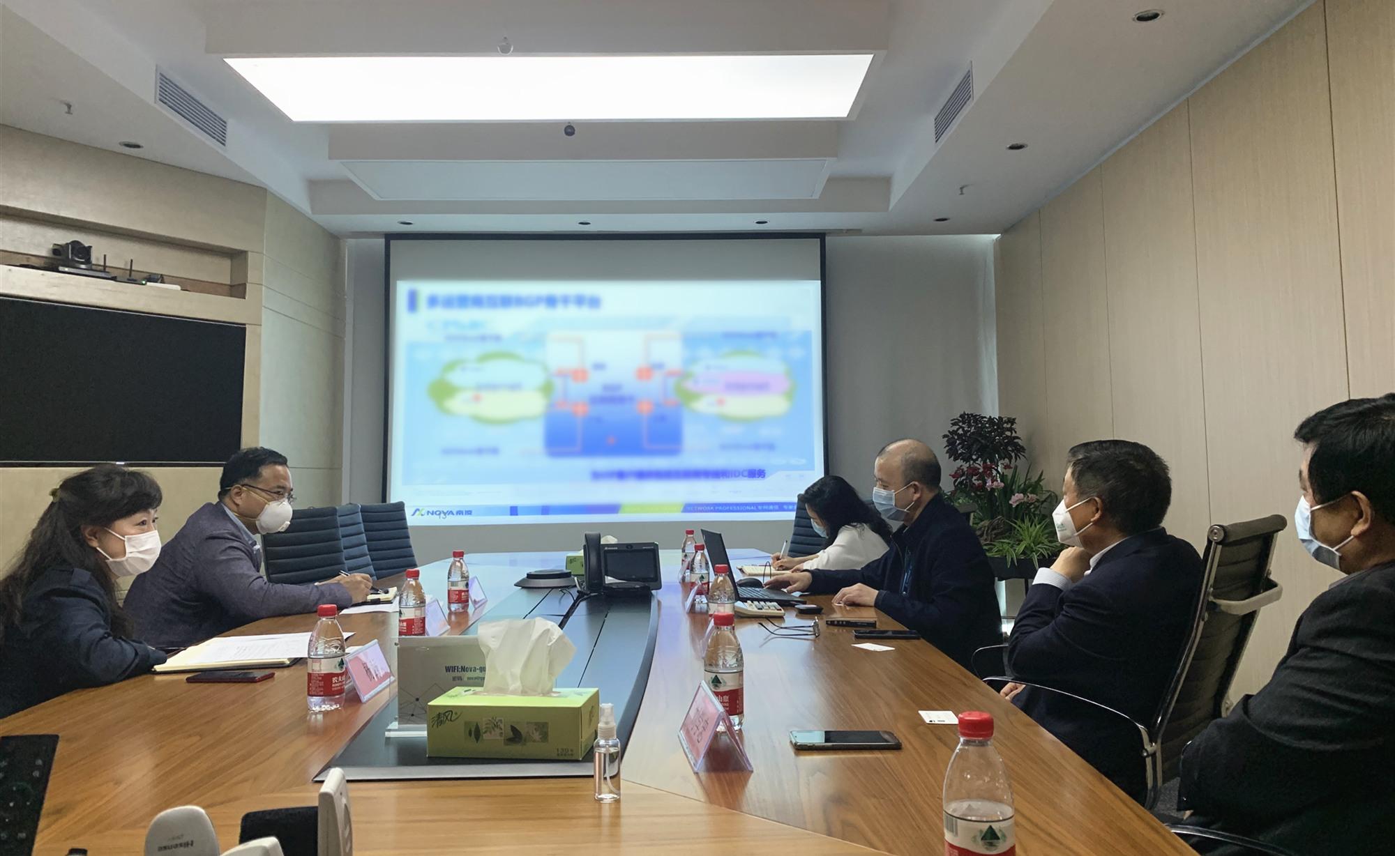 深圳市中小企業服務局領導蒞臨我司參觀指導工作